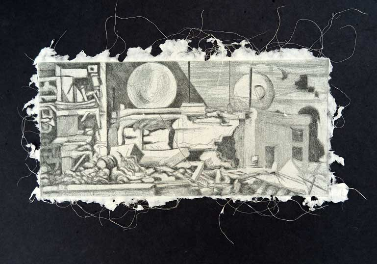 damascus-etching-on-handmade-blwh-paper
