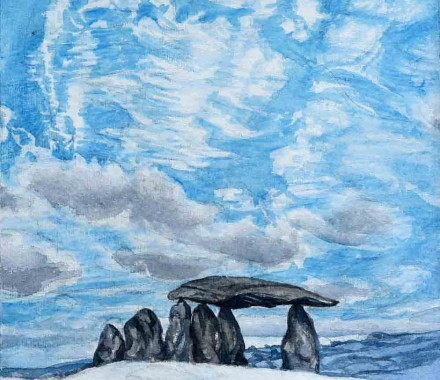 Pentre Ifan, Watercolour Sketch