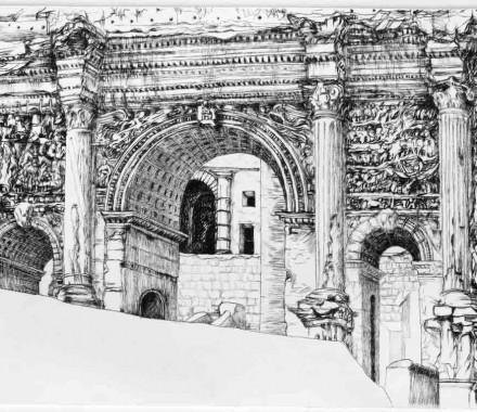 Septimius Severus' Arch